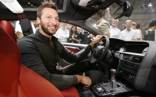 ian thorpe in masina