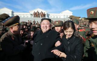 Kim Jong-un, Ri Sol-ju