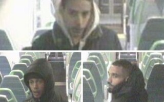 Atac într-un tren din Londra