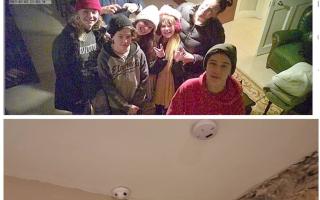 Familie spionata