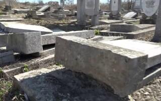 Cimitirul evreiesc din Husi, vandalizat - 4
