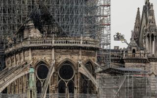 Notre Dame, la o zi de la incendiul devastator - 2