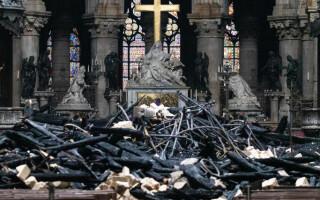 Primele imaginii din interiorul Catedralei Notre Dame - 1