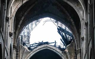 Primele imaginii din interiorul Catedralei Notre Dame - 8
