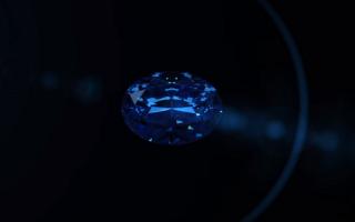 diamant albastru Okavango