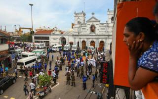 Atacuri în lanț în Sri Lanka - 1