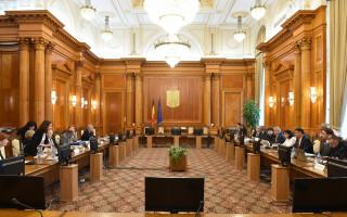 Comisia de la Veneţia, întâlnire cu reprezentanţi ai Comisiei speciale pentru justiţie
