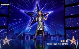 """Adalia, fetița care a cântat cu Jessie J, la """"Românii au talent"""""""