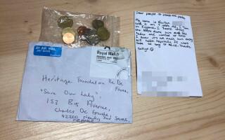 Donația făcută de o fetiță de 9 ani pentru Catedrala Notre Dame