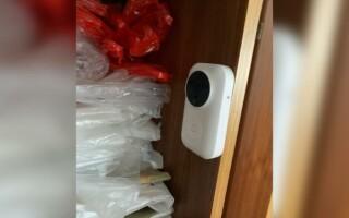 camera supraveghere in dulap