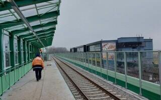 """Lucrările la """"Gara lui Ion Țiriac"""" de la patinoarul din Otopeni sunt aproape gata. Când va fi inaugurată"""
