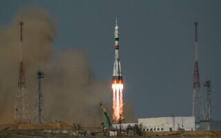 Lansarea capsulei Soyuz