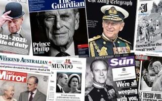 Decesul prințului Philip i-a determinat pe cei de la Daily Mail să scoată un ziar de 144 de pagini