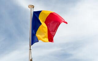 steag, Romania, drapel