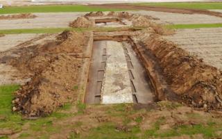 Drum roman de 2.000 de ani, foarte bine conservat, descoperit pe șantierul Autostrăzii Transilvania. De ce va fi distrus