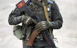 Soldat din Kârgâzstan