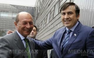 Basescu si Saakasvili