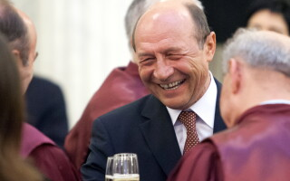 Traian Basescu, Curtea Constitutionala - COVER