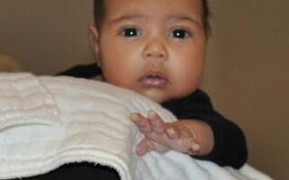 fetita lui Kim Kardashian