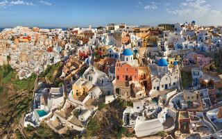 Santorini, Grecia,AirPano