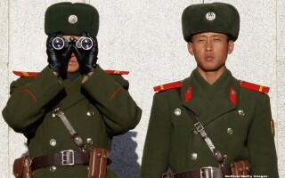 soldati Coreea de Nord - GETTY