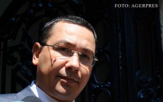 Victor Ponta la sediul PSD din Kiseleff