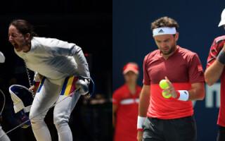 Scrima si tenis la Jocurile Olimpice