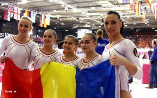 Echipa de gimnastica a Romaniei la Olimpiada de la Londra