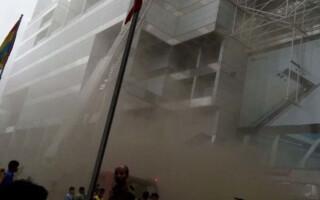 incendiu mall Bangladesh
