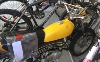 Motocicletă furată