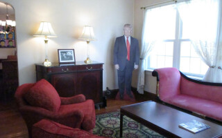 casa in care a copilarit Trump