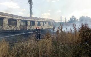incendiu, Gara Basarab
