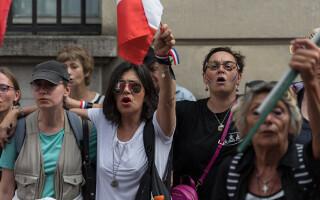Protestul soțiilor de militari
