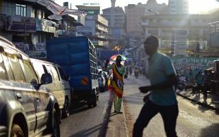 strada din Kampala, Uganda