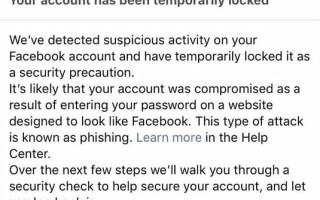 facebook blocat
