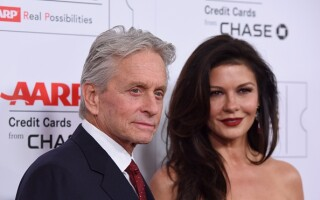 Catherine-Zeta Jones, Michael Douglas