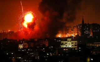 Atac in Fasia Gaza