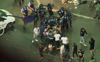 Violente in Piata Victoriei