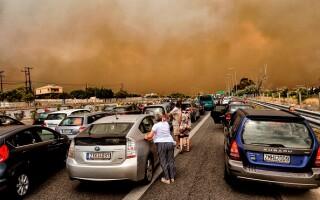 incendii grecia, bilant, victime,