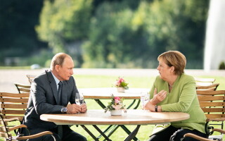 Vladimir Putin, Angela Merkel, Berlin,