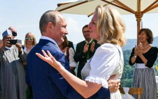 Karin Kneissl, Vladimir Putin