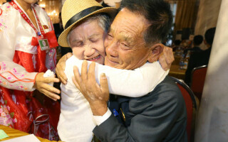 Familie reunita dupa 70 de ani