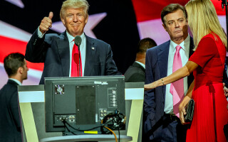 Paul Manafort, Donald Trump