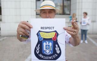miting pro jandarmerie