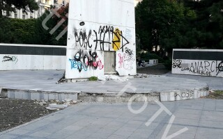 memorialul renasterii, monument, Piata Revolutiei