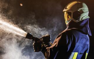 Incendiu într-un complex turistic din Mamaia