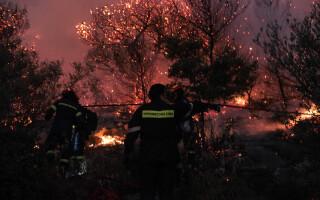 incendii de vegetatie in Grecia