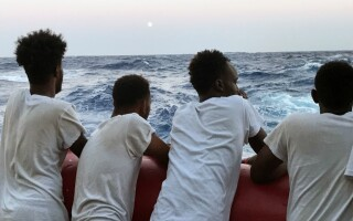 migranti, Open Arms