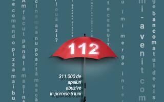 Abuz ieșit din comun. Un oltean a sunat de 9.544 de ori la 112
