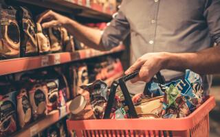 alimente ambalate supermarket